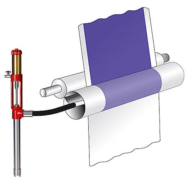 ZPArrow: Spalmatrice rotativa per carta e tessuti